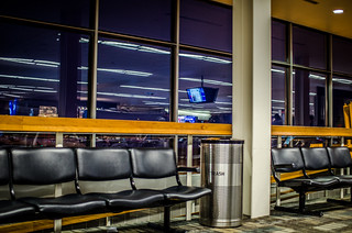 Waiting at the gate - MSP | by m01229