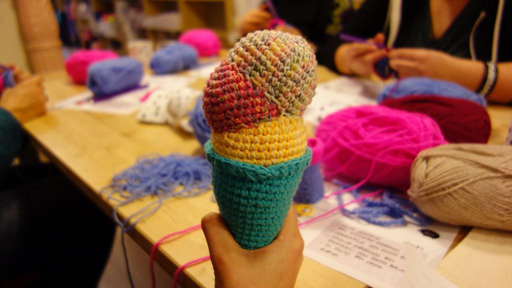 Ovejas puff (como pomponcitos :) tejidas a crochet / amigurumi ...   576x1023