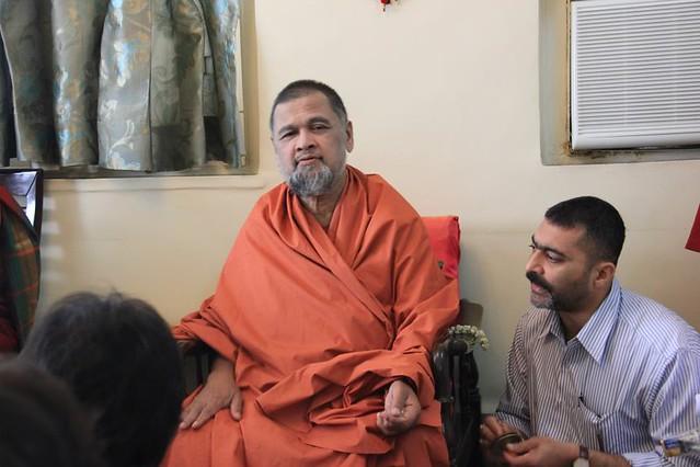 Swami visit Mumbai 2013