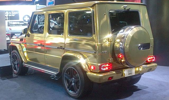 Mercedes Benz G63 AMG Gold Left Rear