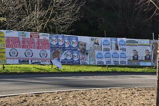 Manifesti elettorali | by Simone Ramella