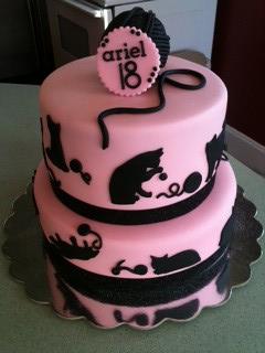 Prime Cat Themed Birthday Cake Paige Flickr Funny Birthday Cards Online Ioscodamsfinfo
