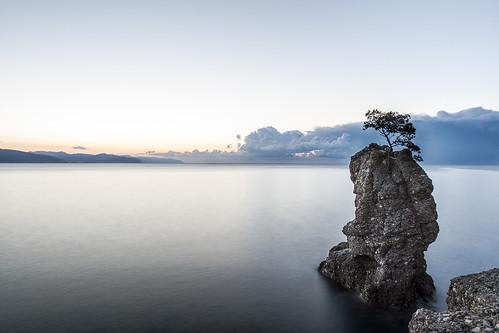longexposure sea sky italy panorama sunrise landscape twilight italia mare alba liguria genoa genova cielo portofino lunga esposizione crepuscolo paraggi scoglio carega