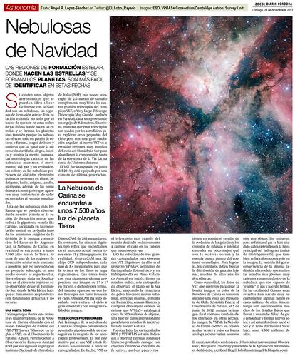 Zoco de Astronomía: Nebulosas de Navidad   by Ángel López-Sánchez