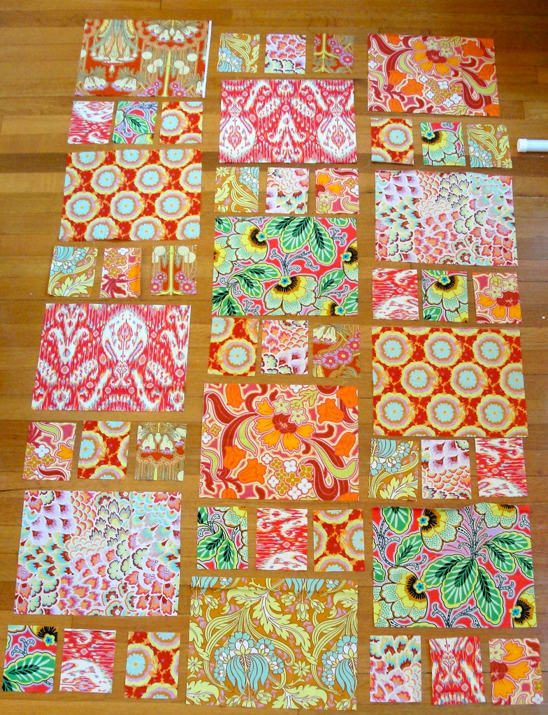 Amy Wip amy butler boho quilt wip | just got in the honey dew sashin