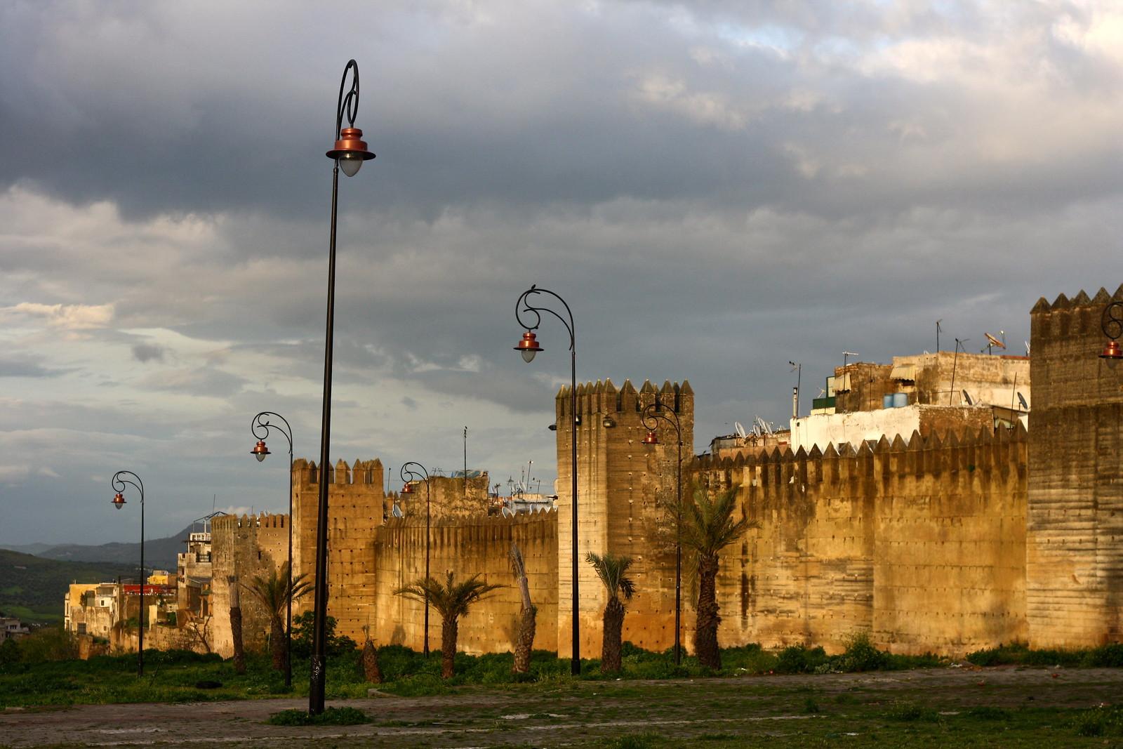 Fez medina walls, Morocco