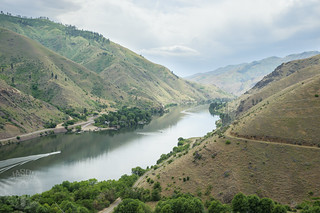 On the side of Hells Canyon