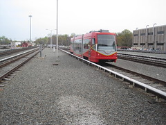 DC Streetcar in Greenbelt Yard