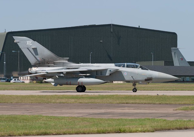 ZE942  'XE'  Tornado F3  RAF  F3OEU