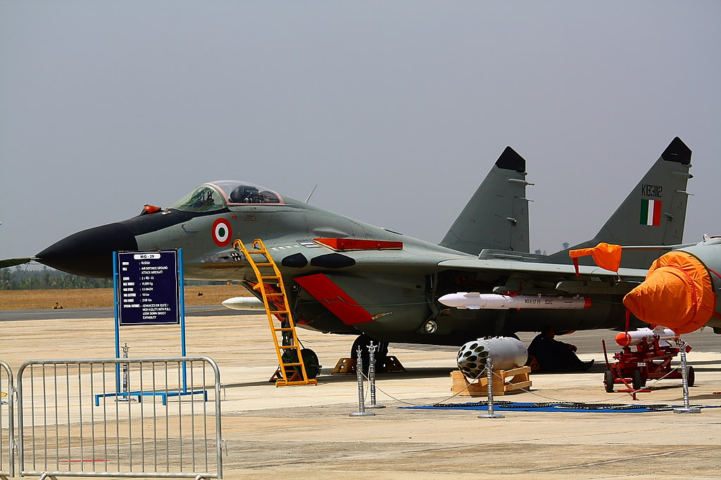 Mig-29 of the Indian Air Force | Aero India 2013, Air Show