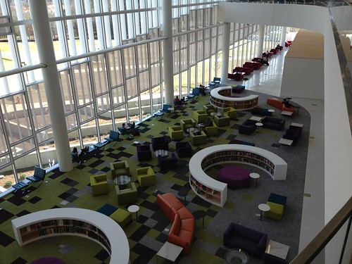 New Hunt Library, NC State University | by kmoliver
