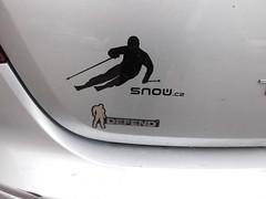 Jak jsme použili samolepky snow
