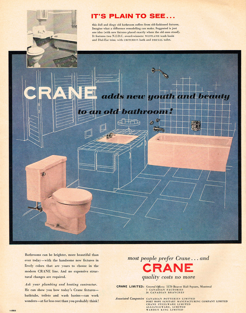 Strange Vintage Ad 2 220 Crane Adds New Youth And Beauty To An O Short Links Chair Design For Home Short Linksinfo