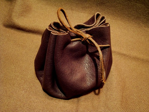 Lederbeutel Leather Pouch | by Hiltibold