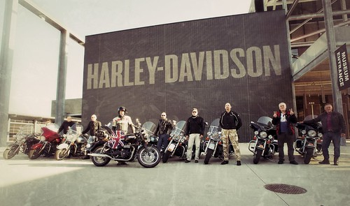 At The Harley Davidson Museum, MIlwaukee | by thelostadventure