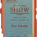 1948 Coorow-Waddy Show Schedule