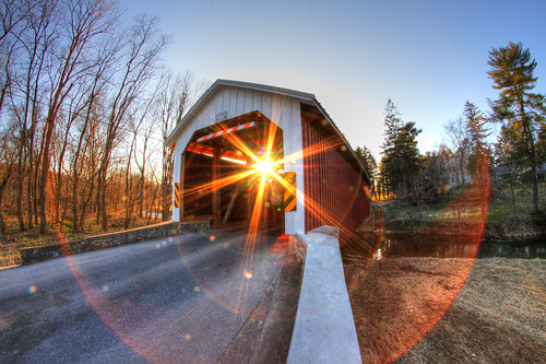 sunset canon pennsylvania columbia pa flare lancaster coveredbridge lancastercounty woodenbridge mikekline michaelkline notkalvin forrysmillbridge notkalvinphotography