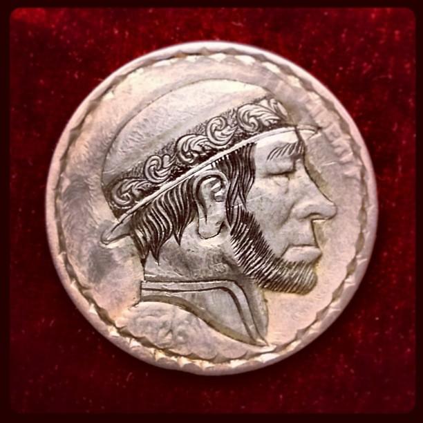 Modern Engraved Hobo Nickel on 1926 Buffalo Nickel  #coin … | Flickr