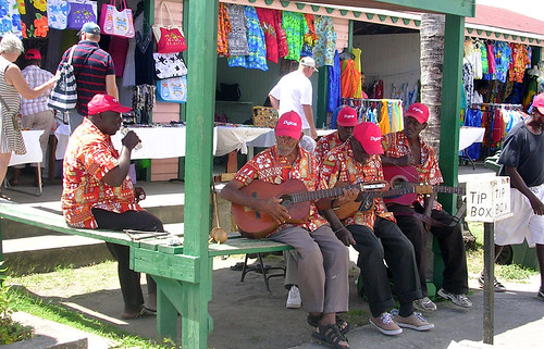 Basseterre - Musicians in Tourist Area | by roger4336