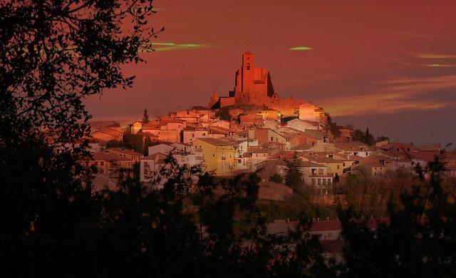 Benabarre (Huesca, So) - Gocemos del ocaso