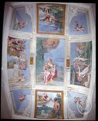 Salle de Diane, Le Dominquin, Fresque, Villa Giustiniani & Palais Odescalchi, Bassano Romano