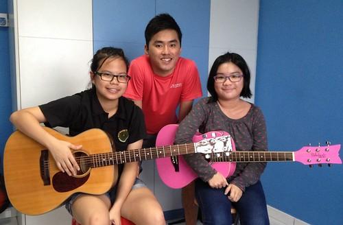 Guitar lessons Singapore Erika Kay