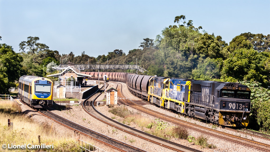 WK923 at East Maitland by LC501