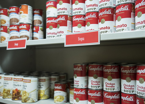 Canned food at the UMD Campus Pantry | by Bread for the World