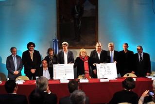 Susana Malcorra firma GQUAL