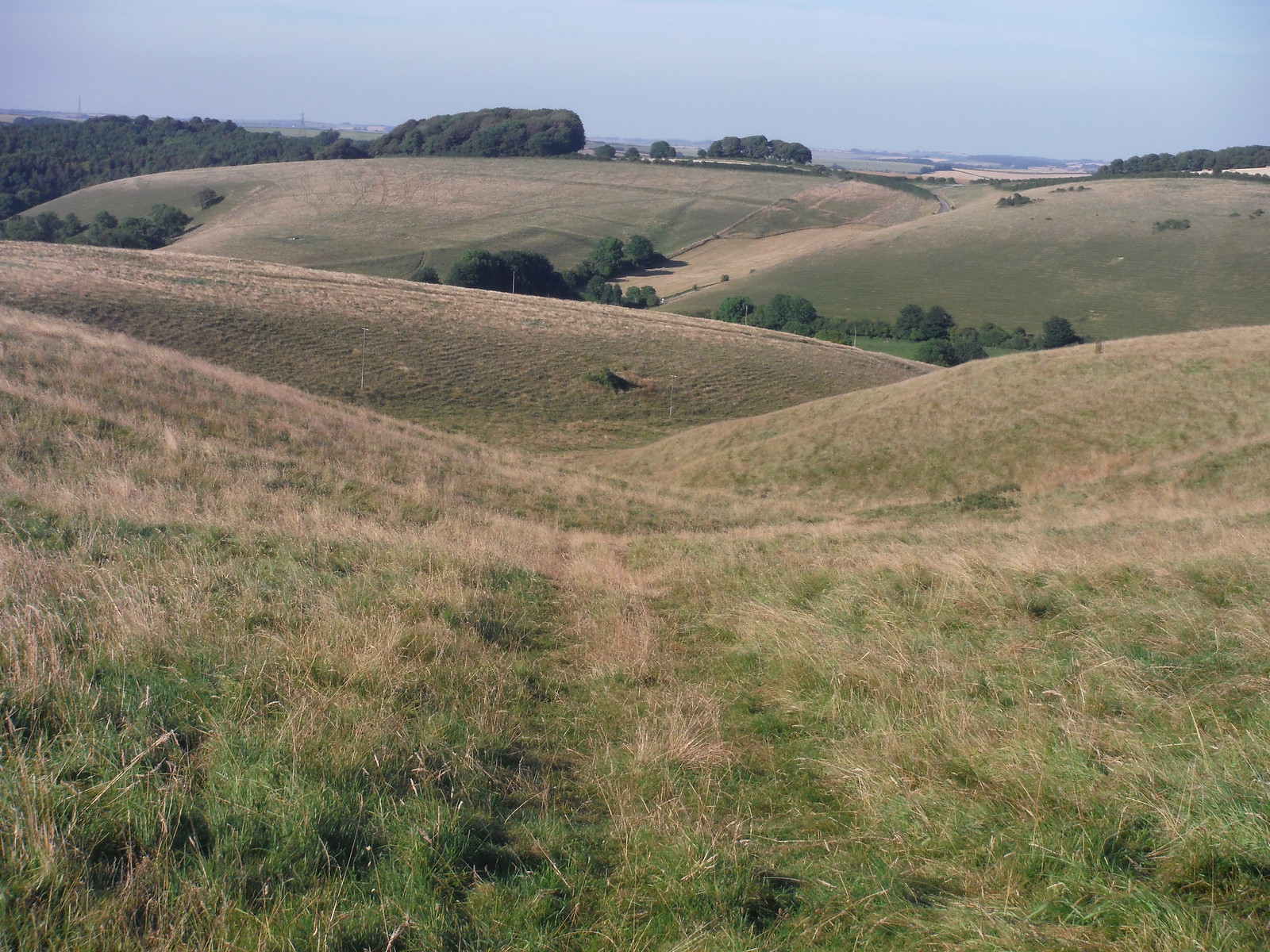Crow Hill, Valley of Stones SWC Walk 275 Dorchester South Circular or to Portesham (Extension)