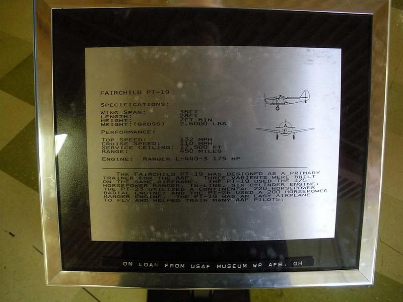 Fairchild PT-19A Cornell 1
