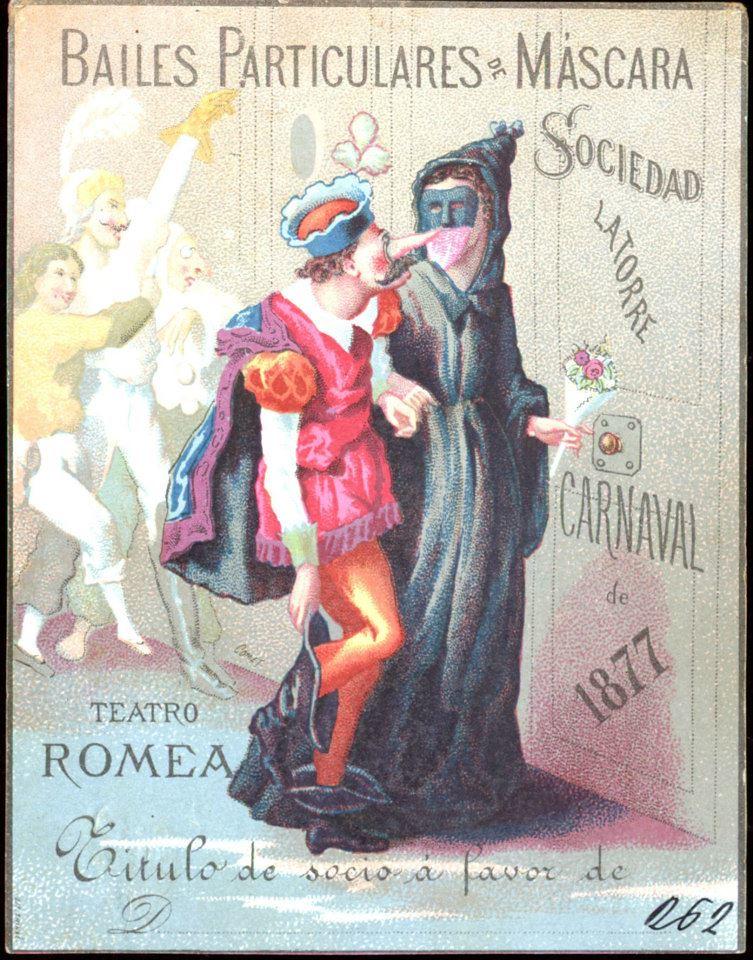 Cartells I Programes Històrics De Carnavalbcn Font Arxiu Flickr