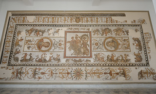 1157-20101022_Tunisia-Tunis-Bardo Museum-Mosaic-from Trajan Baths, Acholla (N of Sfax)-one of oldest in Roman Africa | by Nick Kaye