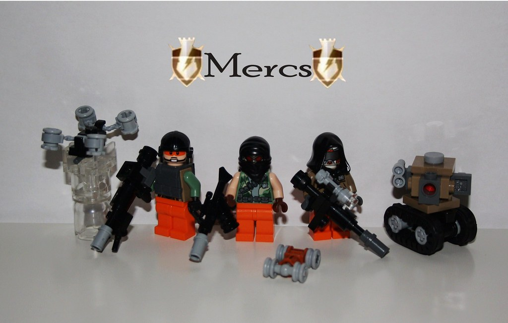 C O D game series) Black Ops II, Team Mercs |