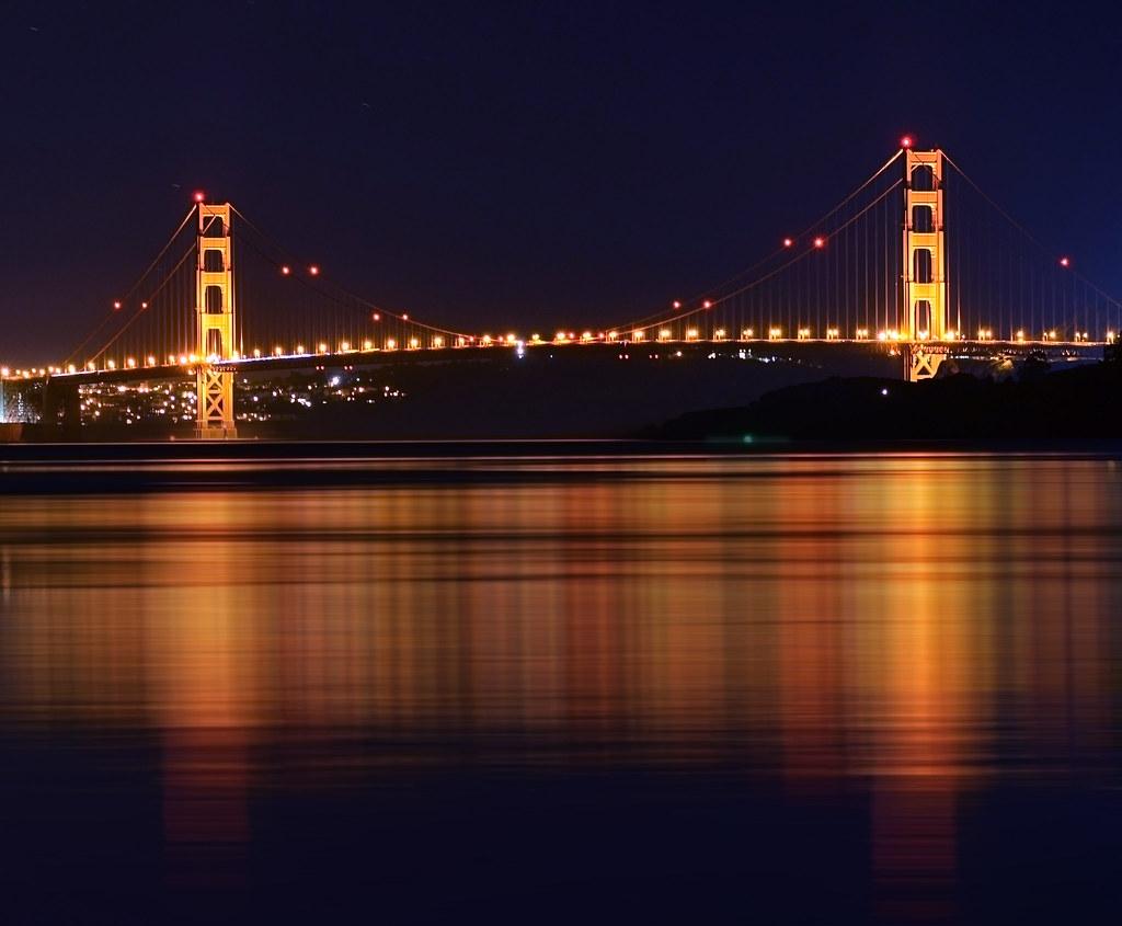 Golden Gate Bridge shot from Tiburon CA [Explored]