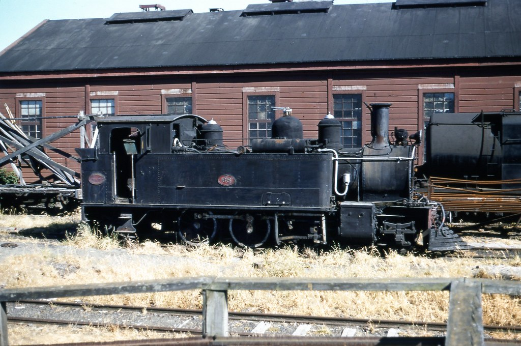 NZR 1958-12-06 Wa68 at Palm North loco