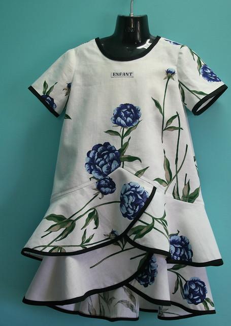 Pinwheel Slip Dress and Tunic