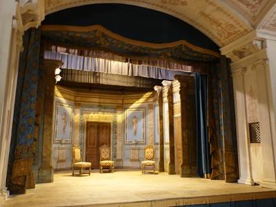Teatro del castillo de Valençay en Francia