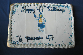Birthday cake for 47