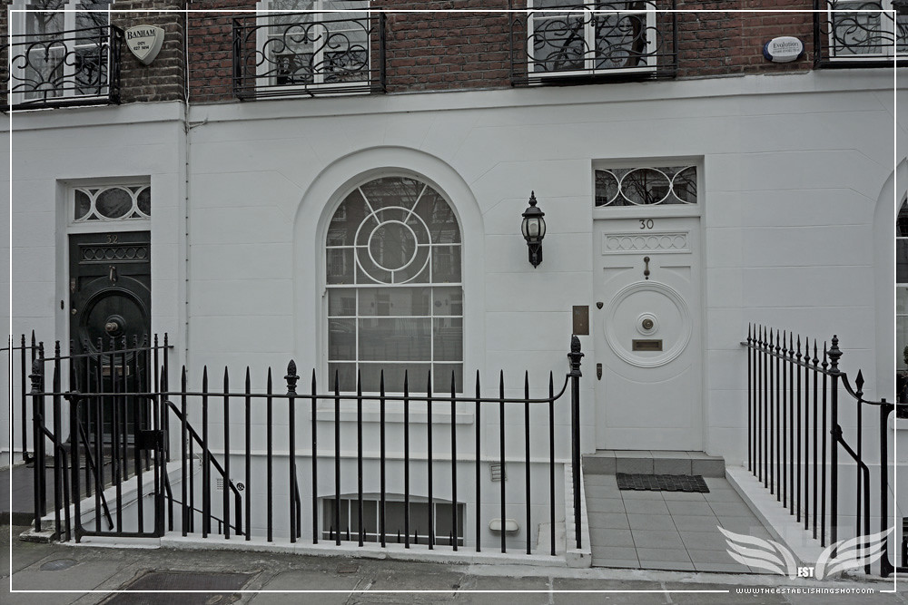 The Establishing Shot: THE SERVANT FILM LOCATION - JAMES FOX TONY'S LONDON HOME