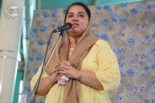 Navneet Ruby from Sant Nirankari Colony, Delhi, expresses her views