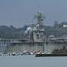 El R11 Príncipe de Asturias en la base naval de La Graña