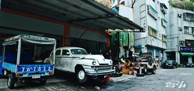 台中 Old cars in Taichung
