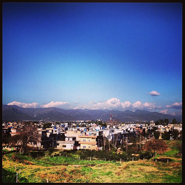 Weather Forecast Islamabad: Weather #islamabad #iphoneonly #blueSky #beauty #bloom