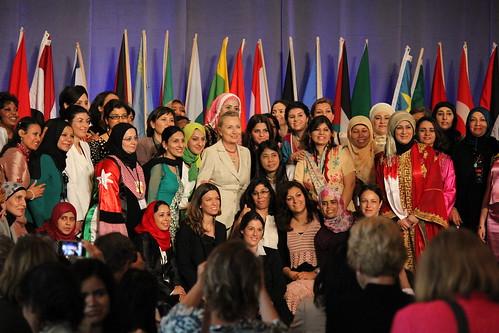 Hillary Clinton Opens Women in Public Service Institution