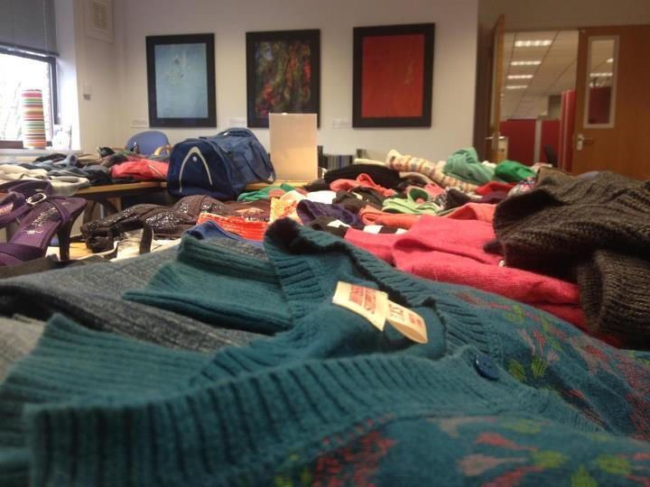 Stewardship held a 40acts clothes swap, and donated £209.50 to The A21 Campaign!