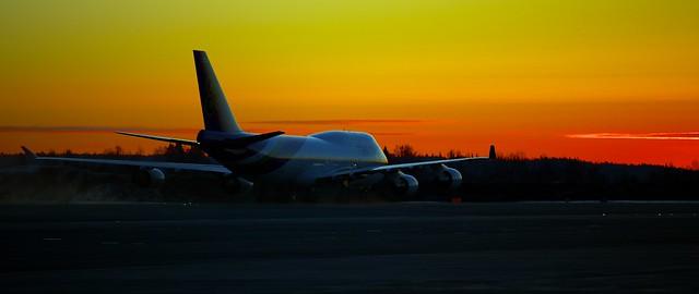 HS-TGZ Thai Airways International Boeing 747-4D7