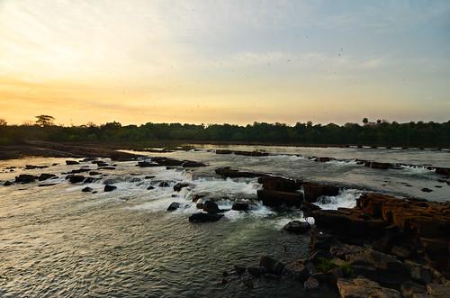 africa sunset forest river guinea waterfall tramonto fiume westafrica foresta cascata rapide bissau guineabissau riocorubal guinèbissau corubal guinè saltinhu riucorubal