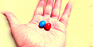 The Matrix Blue Red Pills   by Philip Taylor PT