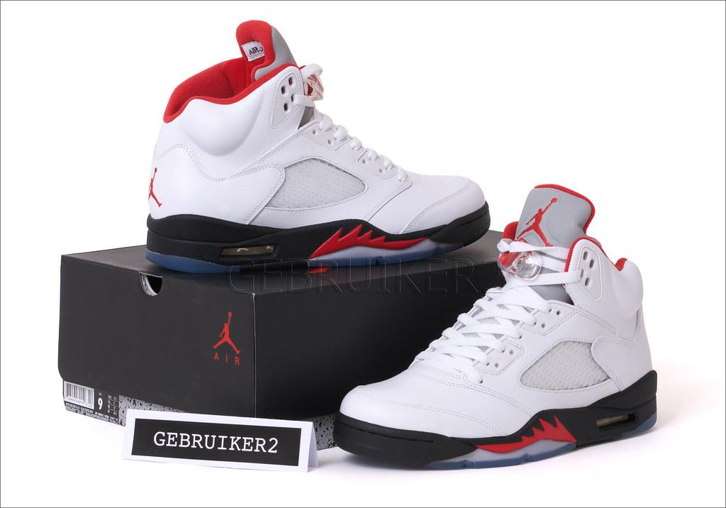 sports shoes 84ab4 20081 NIKE AIR JORDAN V RETRO FIRE RED 5A | gebruiker2 | Flickr